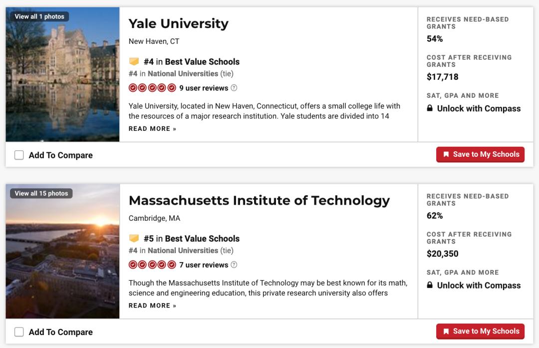 想花最少的钱读好的大学?2021 U.S.News 美国大学性价比排行榜!